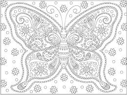 Online Christmas Coloring Pages Adults Free For Printable Difficult