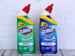 easy bathroom cleaning clorox toilet bowl cleaner with bleach