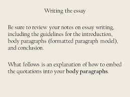 the adventures of huckleberry finn writing assignment ppt  writing the essay be sure to review your notes on essay writing including the guidelines