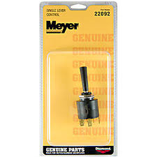 meyer plow control new genuine meyer snow plow slick control lever part 22092 22092c 22092sk