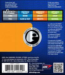 Elixir Strings 12052 Nanoweb Electric Guitar Strings 010 046 3 Pack