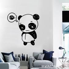 on panda wall art uk with the best funky panda wall art vinyls wall art studios uk