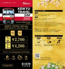 Sim Card Vending Machine Haneda Extraordinary KEIKYU TRAVEL SIM Now Available For Purchase News List Useful