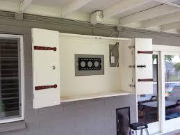flat screen tv cabinet with doors