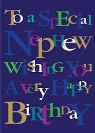 Ling Design Nephew Happy Birthday Card Felicitaciones Pinterest New Nephew Quotes Pineinterest
