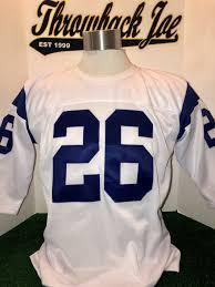 W Style Neck 1960's Crew White Home Jersey edeecdfbdbaededa|Jacoby Jones Celebrates Enormous TD Catch