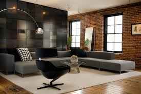 living room decor with sectional. Choose A Powerful Backdrop For Low-profile Sectional. Living Room Decor With Sectional N