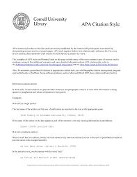Apa Citation Format Fliphtml5