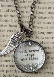 Wings Quotes 40 Best With Brave Wings She Flies Angel Quotes Quotespictures