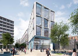 Google london office address Landscraper Dezeen Ahmm Submits Plans For Googles New London Headquarters