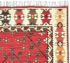 rosario kilim recycled yarn indoor outdoor rug warm multi pottery barn