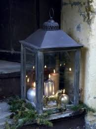 25 Days of Holiday Decorating ~ Days #5 and #6. Rustic LanternsIndoor  LanternsOutdoor ...