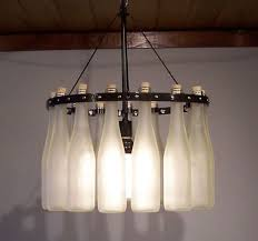 innovative wine bottle chandeliers how to make a wine bottle chandelier