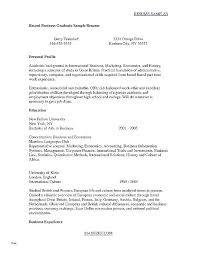 Recent College Graduate Resume Sample College Graduate Resume Sample Grad Template Inspirational