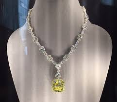 this legendary beauty was acquired by charles lewis tiffany in 1878 to this day the spectacular 128 54 carat fancy yellow diamond remains one of the most