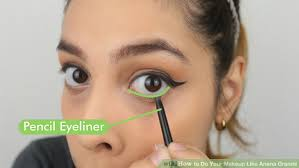 image led do your makeup like ariana grande step 9