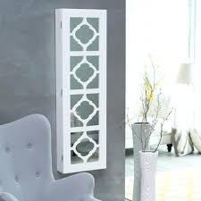 m modern white painted wooden wall jewelry with accents wall mounted jewelry armoire with mirror by beautify modern white painted wooden wall jewelry with