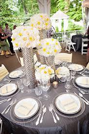 gray wedding centerpieces Wedding Decorations Yellow And Gray gray wedding centerpieces 17 best ideas about grey tablecloths on emasscraft org wedding decorations yellow and gray