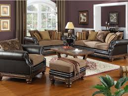 Leather Chairs For Living Room Ridgemark Chocolate Brown Leather Chair Contemporary Living Room