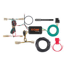 curt custom wiring harness 4 way flat output 55563 the home depot custom wiring harness 4 way flat output