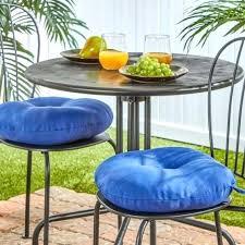 14 inch bistro chair cushions circular cushion round
