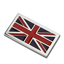 Dsycar <b>1Pcs</b> 3D Metal UK <b>Flag Car</b> Side Fender Rear Trunk ...