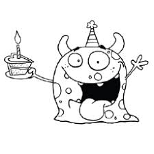 A festive collection of birthday coloring pages. Happy Birthday Coloring Pages Free Printables