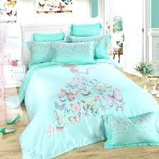 girls bedding sets full turquoise grey and pink erfly print little girl pattern contemporary modern princess