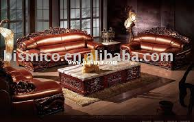 most comfortable and luxury antique european style genuine leather sofa set chesterfield sofa villa antique living room furniture sets