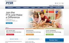 Pta Templates Deborah Pta Website Builder