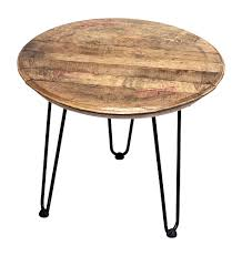 reclaimed bourbon whiskey barrel head table