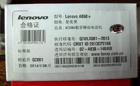 Lenovo A850+, Schwarz, Dual-Sim, 5.5 ...