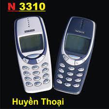 Điện Thoại Nokia 3310 Huyền Thoại Có Sạc, Pin (Bảo hành main máy 3 tháng) -  ChoBaDao