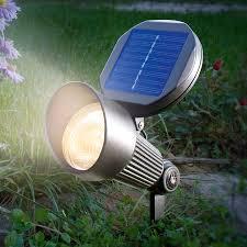 Solar Light Spotlight With Warm White Led Lighting Lightsie