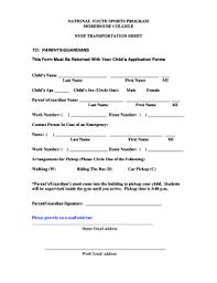 Permission Slip Forms Template 30 Printable Permission Slip Template Forms Fillable