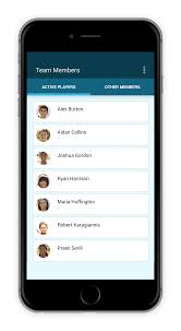 Manage Your Sports Team Roster Teamtracky