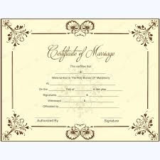 blank ordination certificates fake ordained minister certificate blank marriage certificate