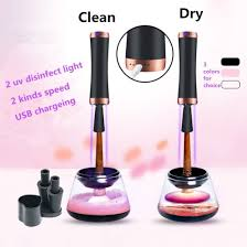2018 amazon best seller automatic electric makeup brush cleaner