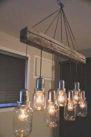 lighting Industrial Chic Chandelier Beautiful Rustic Dining Room