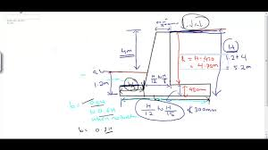 Retaining Wall Structural Design Example Lec 4 Problem On Design Of Rcc Cantilever Retaining Wall