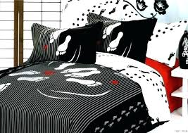 black white twin comforter sets red and queen set lush animal print home improvement charming