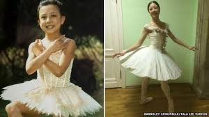 Russian Ballet Weight Chart Barnsley Ballerina Tala Lee Turton Dances On Bolshoi Stage