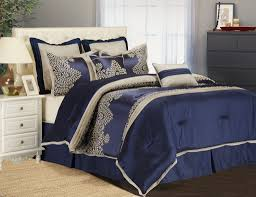furniture charming navy comforter set twin queen size blue sets surprising full solid and white impressive