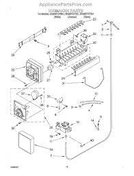 whirlpool 4317943 whirlpool icemaker kit appliancepartspros com part diagram