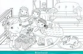 Small Picture American Girl Doll Coloring Pages Grace Contegricom