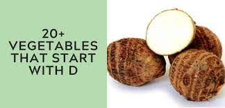 20 vegetables that start with d 2021