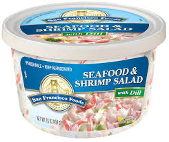 Seafood & Shrimp Salad with Dill, 16 oz ...