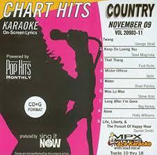 November 2009 Music Charts Amazon Com Pop Hits Monthly Country November 2009 Karaoke