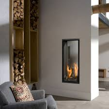 bellfire tall skinny gas fireplace friendly fires