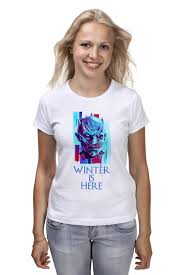 <b>Футболка классическая Printio Winter</b> is Here #2955581